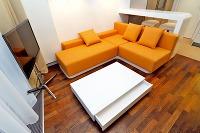 Pôvodne navrhované zariadenie obývačky,