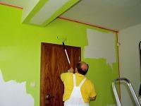 Pri maľovaní stien sa