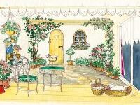 Nostalgická záhrada  Niečo pre romantické