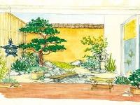 Japonská záhrada  Aj milovníci japonských