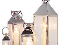 Súprava štyroch lampášov Giardino.