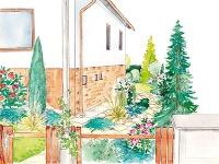 Návrh vstupnej záhradnej partie,
