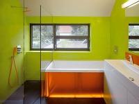 Detská kúpeľňa žiari farbami,zaujala