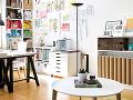 Denná miestnosť spája obývačku
