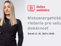 Online webinár so Silviou