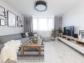 obývacia izba so sivou