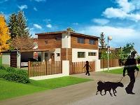 Dom podľa architektonickej štúdie