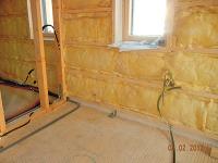Montovaná drevostavba je zateplená