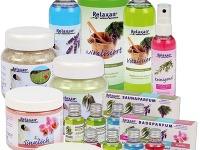 Aromaterapeutické kúpeľové doplnky Relaxan.