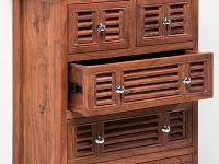 Bielizník Dresser Shelter zagátového