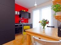 Kuchyňa je vybavená elegantnou