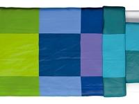 Posteľné obliečky BRUNKRISSLA, zeleno-modré,