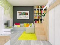 Jednoizbový byt sobytnou plochou