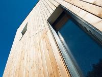 Drevený obklad fasády je