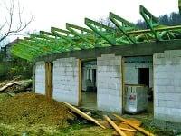 Dvojplášťová plochá strecha s