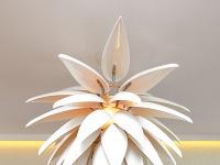 Pôsobivá lampa zo série