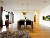 Sotvoreným denným priestorom obývačky