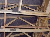 Pultové strechy majú konštrukciu