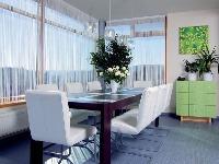 Neutrálny čistý interiér pôsobí