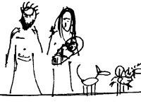 zľava: Juraj, Beátka s