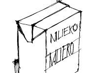Škatule od mlieka možno