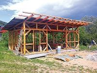 Drevená obvodová konštrukcia