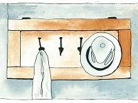 Dvierka vo výslužbe zkuchynskej