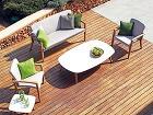 Záhradný nábytok z exotického