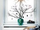 Vyzdobené vázy s prútím
