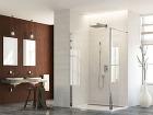 Pohodlné sprchovanie. Pevná zástena