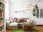 Obývačku urobili znajmenšej miestnosti