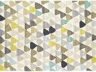 Vlnený koberec z dizajnového