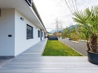 Chránená terasa za domom