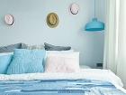 Čelo postele kreatívne a
