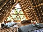 Bambusový domček ako skvelý