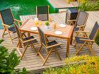 Teakový záhradný nábytok Venice
