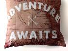 Cestovateľské vankúše Adventure awaits