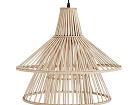 Bambusový luster Natural, výška
