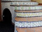 schody a mozaika