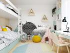 Drevená zástena za posteľou