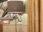 sivá nočná lampa