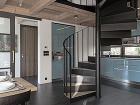 kuchyňa a schodisko