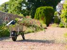 spevnené plochy v záhrade