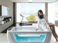 Relaxačný aliečivý efekt vodnej