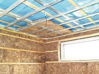 Izolácia stropu apriečok