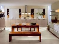 Priestranná kuchyňa, ktorá do