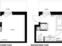 Dispozíciu kúpeľne architektky rozčlenili
