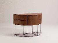 Kozmetický stolík so stoličkou