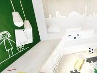 Plochy nábytku či stien