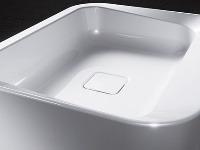 Umývadlo zo smaltovanej ocele